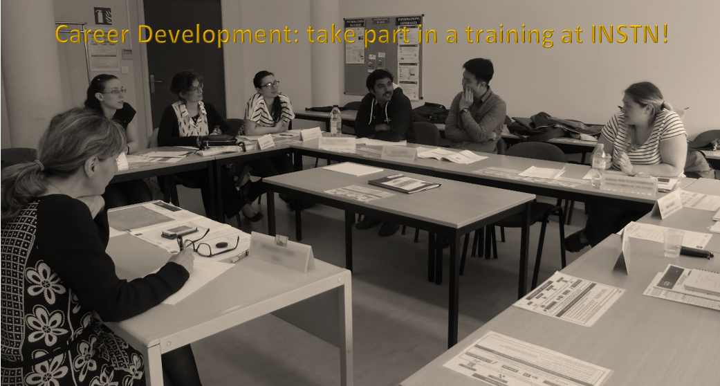 Career Development - take part in a training to boost your career!