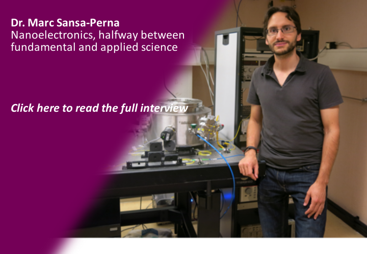 Dr. Marc SANSA PERNA - Nanoelectronics, halfway between fundamental and applied Science