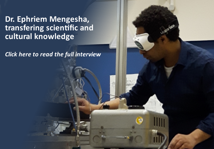 Dr. Ephriem Mengesha, a fruitful cultural and scientific exchange